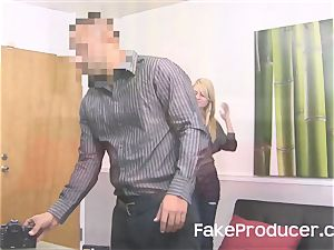 FakeProducer casting little ash-blonde sweetie Chloe Foster
