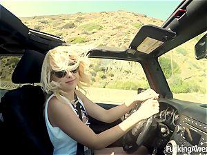 pliable blondie Samantha Rone Gets banged rock-hard