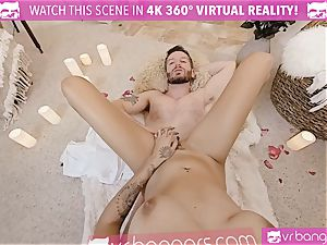 VR pornography - Thanksgiving Dinner becomes nasty smashing