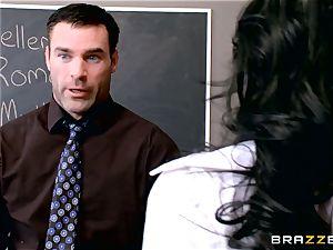 fuckfest craving schoolgirl Valerie Kay tears up the teacher in the classroom