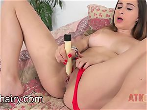 Ashley Adams luvs to plaything with her vulva