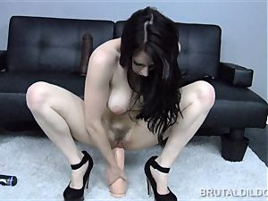 Samantha Bentley guzzles big fuck sticks with her super-fucking-hot gash