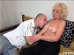 Lusty Mature super-bitch pounded by a nasty boy