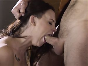 Spoiled pt 2 Chanel Preston gets her steaming cunt handled