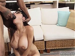 Muslim girl gang-fuck My ginormous dark-hued three-way