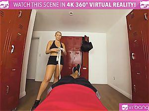 VRBangers.com super-fucking-hot babe perspiring plowing Her Boxing Coach