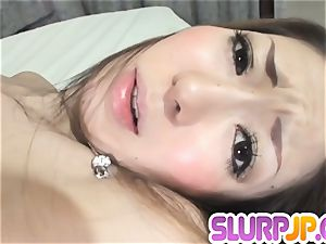 Her wet-dripping and impatient vagina groped and nailed