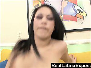 RealLatinaExposed Brazen Latina gets a huge
