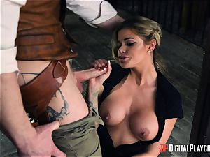 Western vagina boning with Jessa Rhodes and Misha Cross