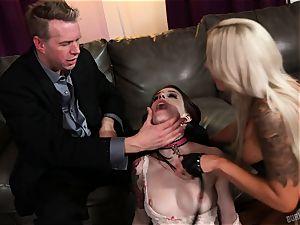 caboose sex with Nina Elle and Anna De Ville