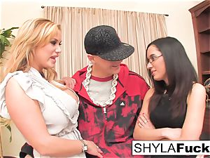 Shyla is willing to do whatever it takes
