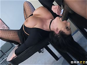 multiracial coochie tear up with thick congenital tits Angela white