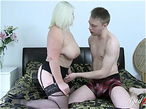 AgedLovE buxom Mature Lacey Starr hardcore paramour