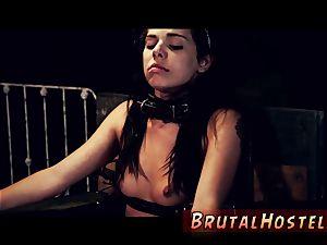 Monster bondage and nubile punished rigid hard-core poor lil' Latina nubile Gina Valentina is