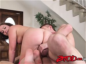 Maddy O'Reilly spread and penetrated