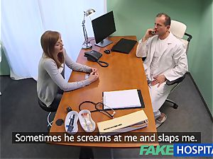 FakeHospital medic creampies super-sexy cock-squeezing poon