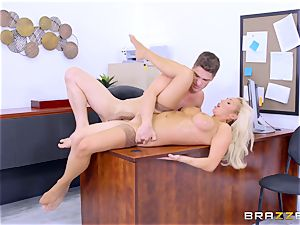 strung up dude Bruce plunges his stiff hefty manhood into Olivia Fox
